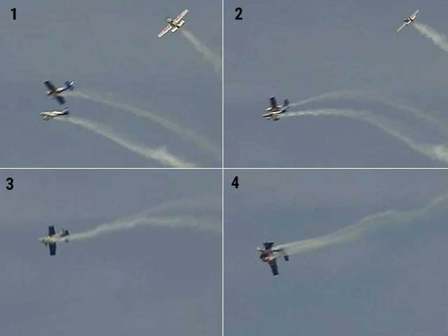 Video : Planes Scrape Each Other Mid-Air at Bengaluru Show, Nobody Injured