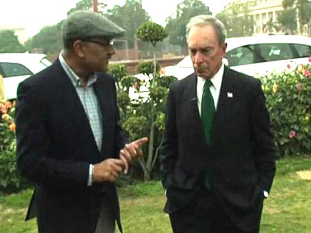 Video : Walk The Talk With Michael Bloomberg