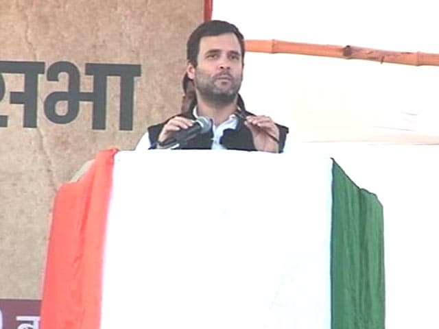 Video : As Budget Session Begins, Rahul Gandhi Applies for Leave