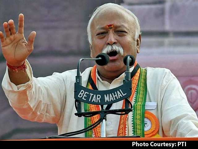 Video : Conversion Was Behind Mother Teresa's Service: RSS Chief Mohan Bhagwat