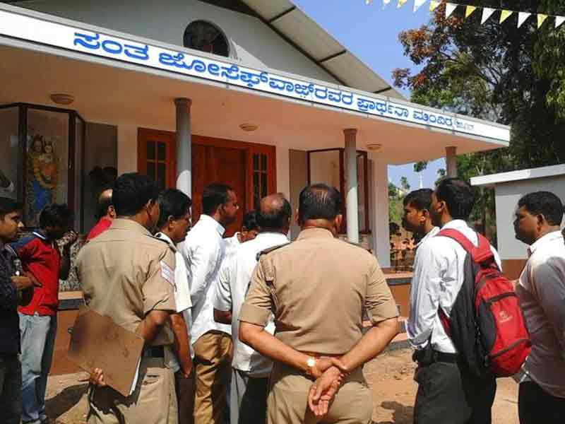 Video : Mangalore Church Attacked Days After PM's Remarks on Religious Tolerance