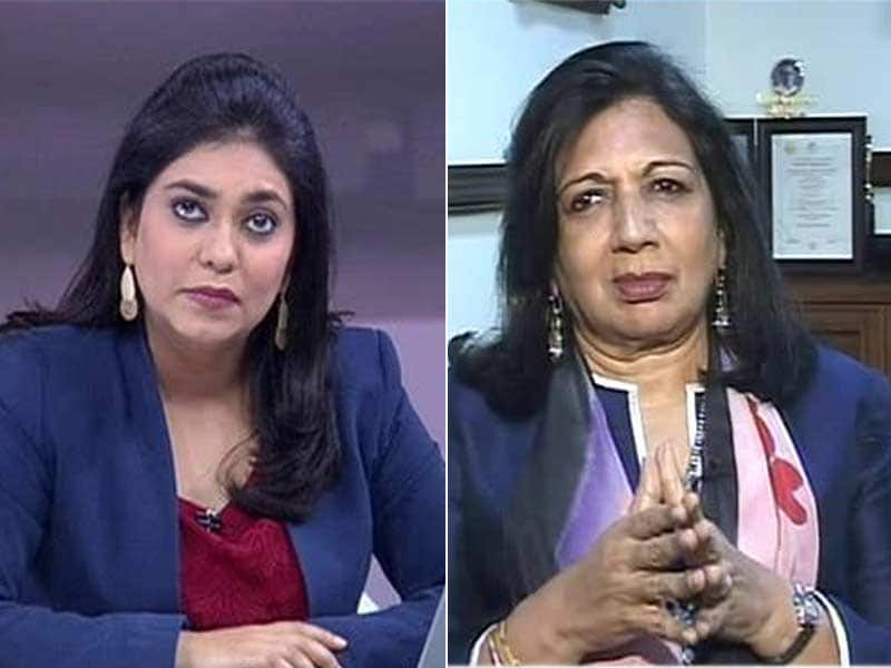 Video : Well Thought Out and Balanced: Kiran Mazumdar Shaw on Railway Budget