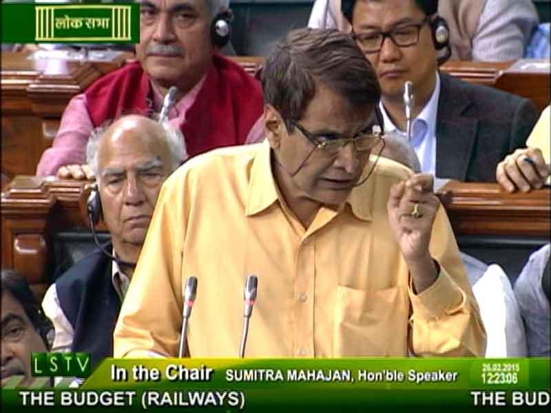 Video : Rail Budget 2015: 'No Increase in Passenger Fares,' Says Suresh Prabhu