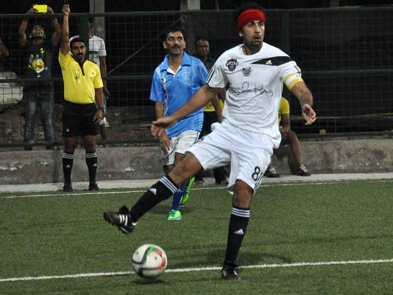 Ranbir's Football Match with Mumbai Police