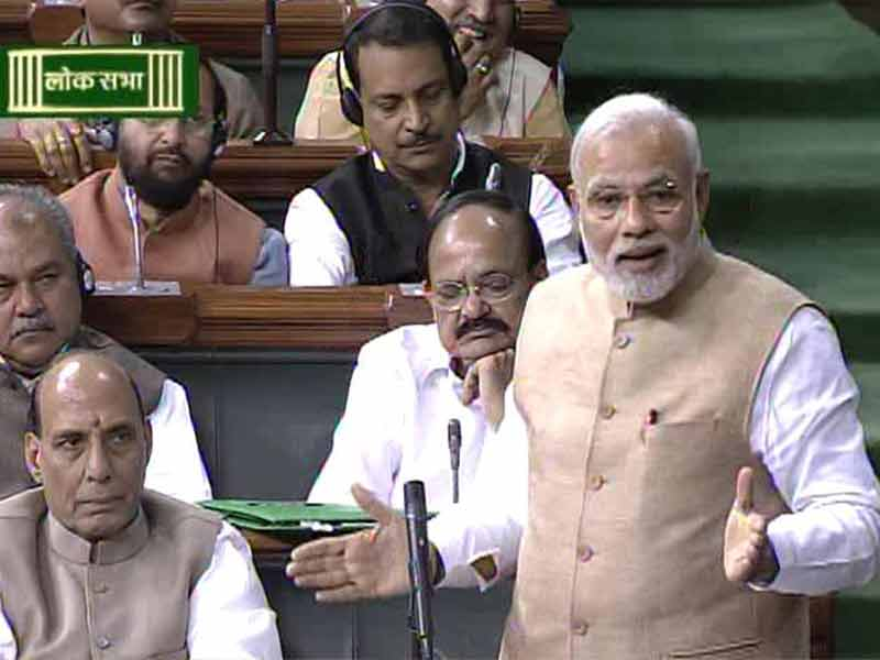 Video : MNREGA to Continue; It Is Living Example of Congress' Failure, Says PM