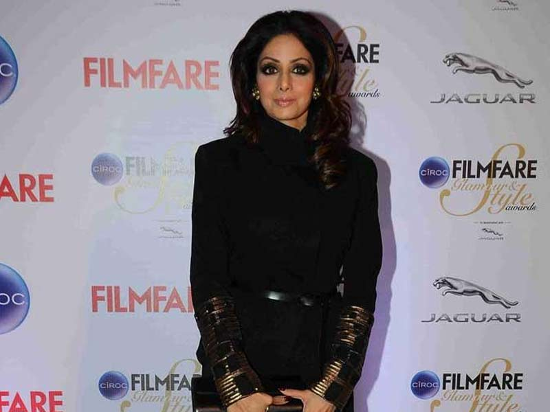 Sridevi: Fashion is about Being Comfortable and Confident