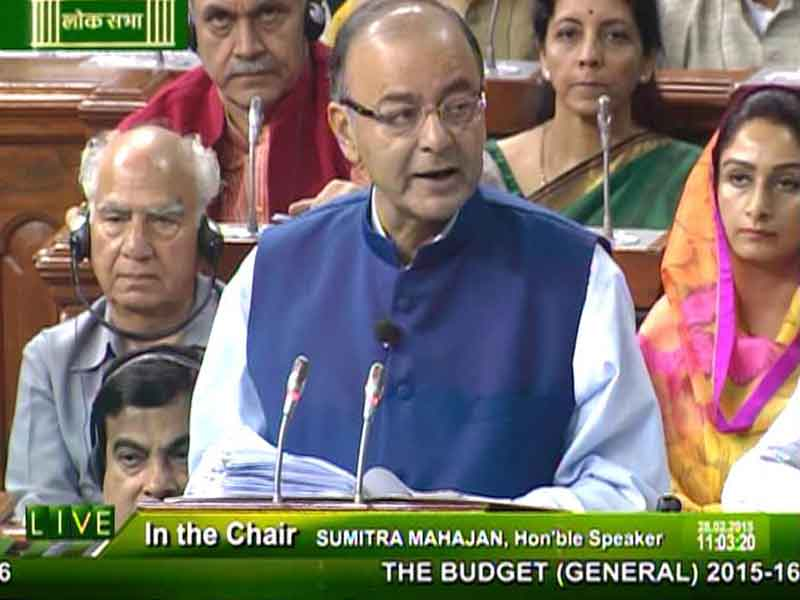 Video : Budget 2015: No Increase in Individual Tax Rates, Corporate Tax to be Cut, GAAR Deferred