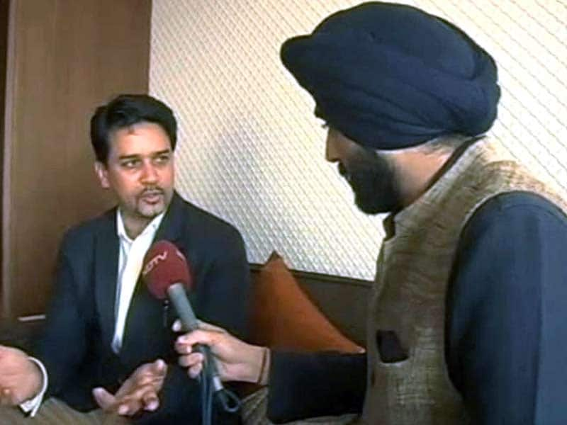 Video : BCCI Image has Suffered in the Last Few Years: New Board Secretary Anurag Thakur