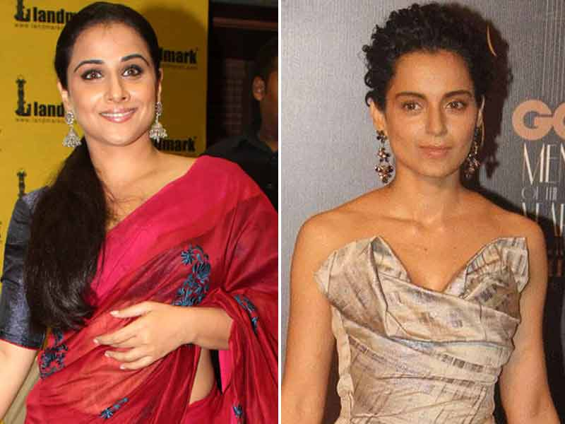 Video : Vidya Balan vs Kangana Ranaut on June 12
