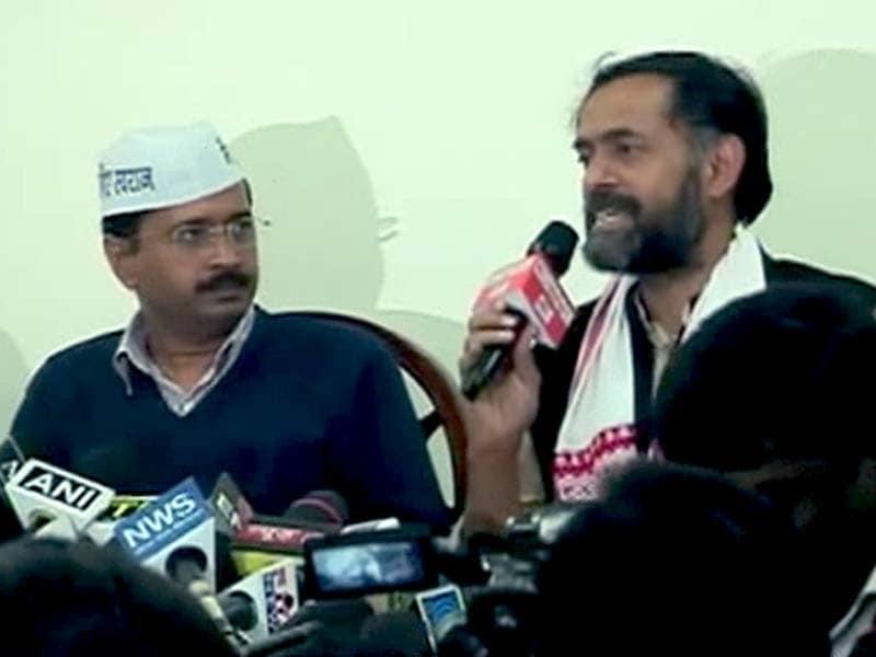 Videos : योगेंद्र और प्रशांत आप पार्टी की पीएसी से बाहर