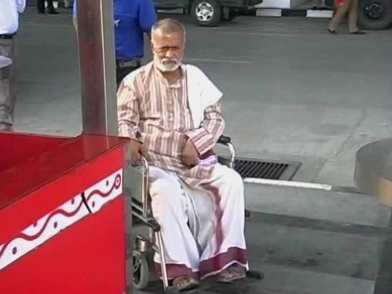 Video : At Chennai Airport, Wheel-Chair Bound 70-Year-Old Denied Access, Even as Minister Breezes Through