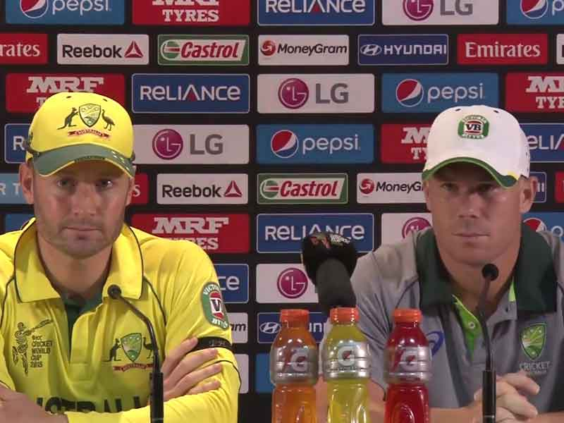 Video : World Cup 2015: Not Disappointed to Miss Double Century, Says David Warner