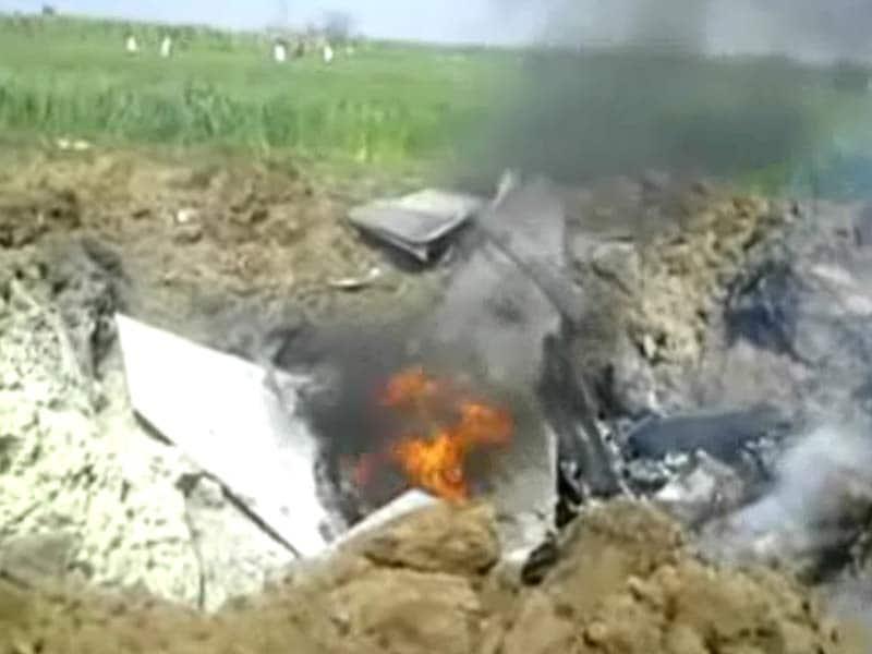 Video : कुरुक्षेत्र के पास जगुआर विमान क्रैश