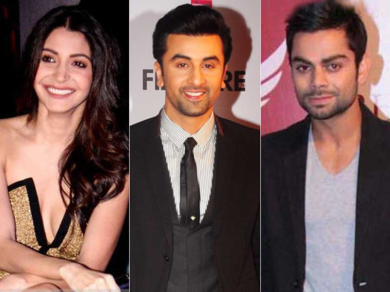 Video : Ranbir, Anushka, Virat Bleed Blue
