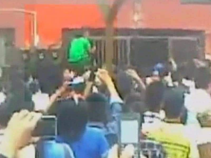 Video : Mob Breaks Into Nagaland Jail, Drags Out Alleged Rapist and Lynches Him