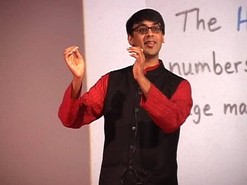 Video : Poetry, Daisies And Cobras: Math Class With Manjul Bhargava