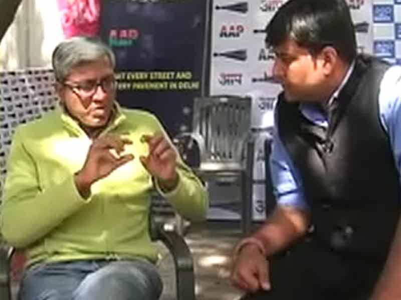 Video : योगेंद्र और प्रशांत ने पार्टी को हराने की कोशिश की : आशुतोष