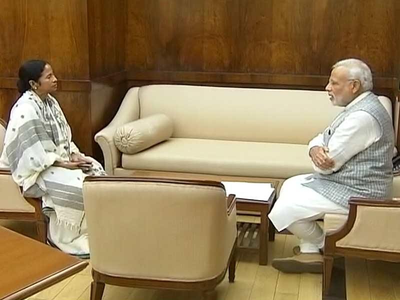 Video : Mamata Banerjee Meets Prime Minister Modi, Asks For Financial Help