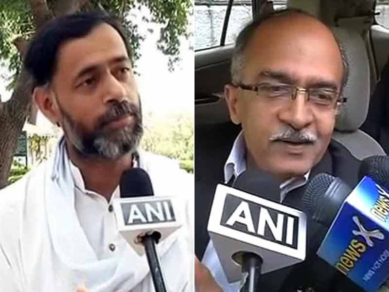 Video : Yogendra Yadav, Prashant Bhushan Tried to Ensure We Lost Delhi Polls, Say AAP Leaders