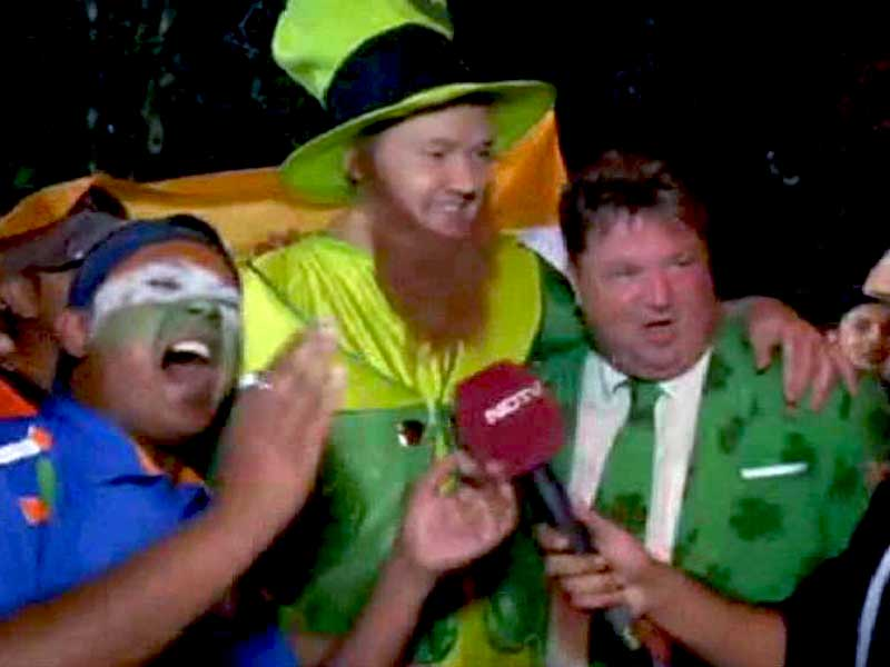 Irish Fans Rejoice Despite Loss to India