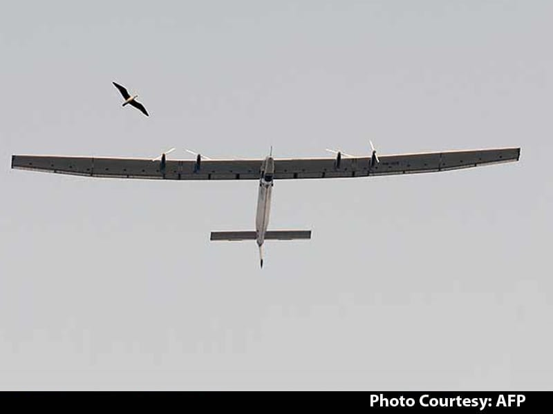 Video : Solar-Powered Plane Lands in India to Complete First Sea Leg