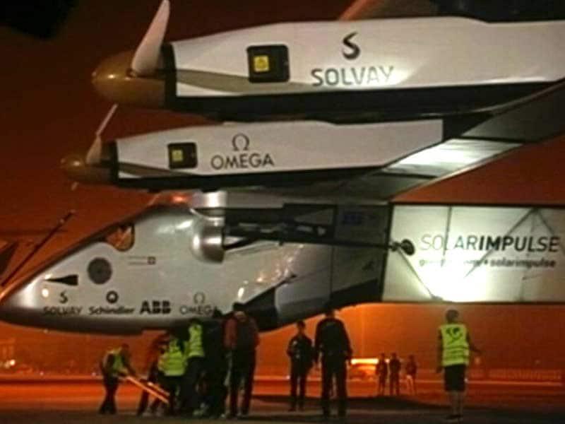 Video : सौर ऊर्जा से चलने वाला विमान 'एसआई-2' अहमदाबाद पहुंचा