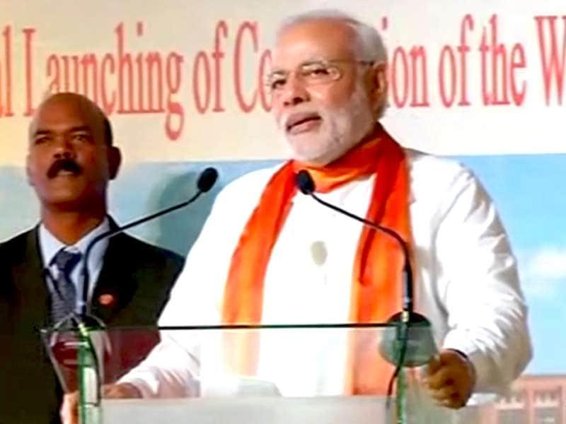 Video : मॉरिशस को गले लगाने आया है भारत : पीएम मोदी