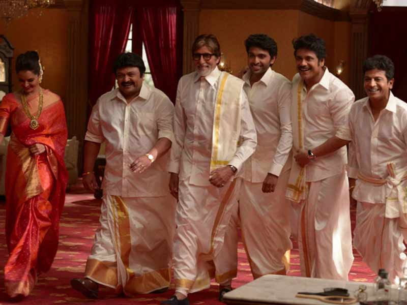 Video : Big B Shoots With Southern Biggies