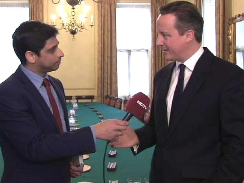 Video : 'Time for India, UK to Look Ahead', David Cameron Tells NDTV Before Gandhi Statue Unveiling