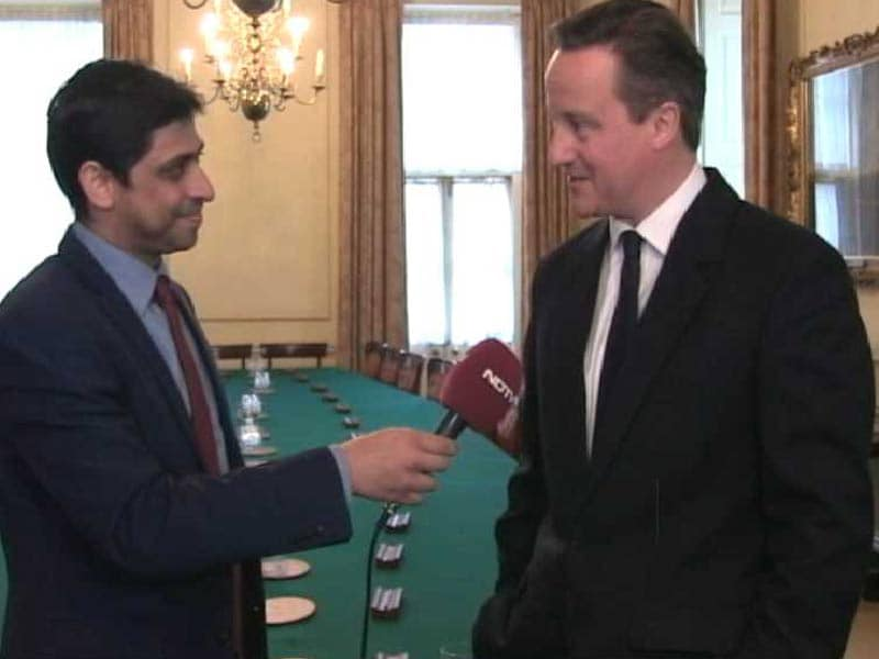 Video : India Playing Like World Champions: British Prime Minister Cameron to NDTV