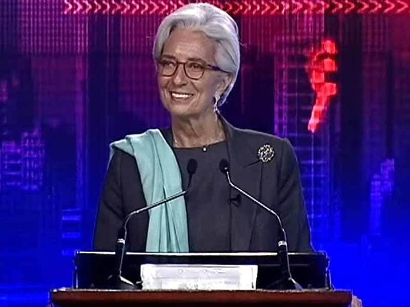Video : <i>Chak De</i> India, Says IMF Chief Christine Lagarde