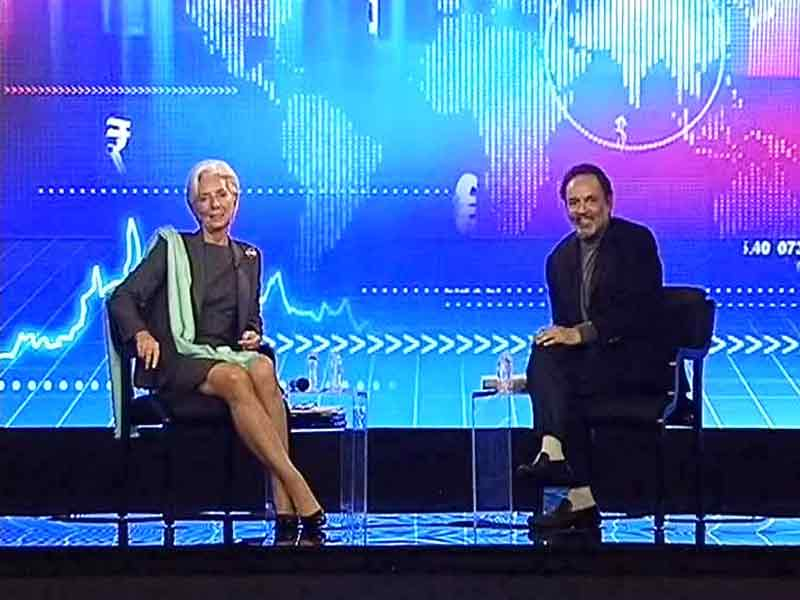 Video : IMF Chief Answers Qs from Prannoy Roy, College Students