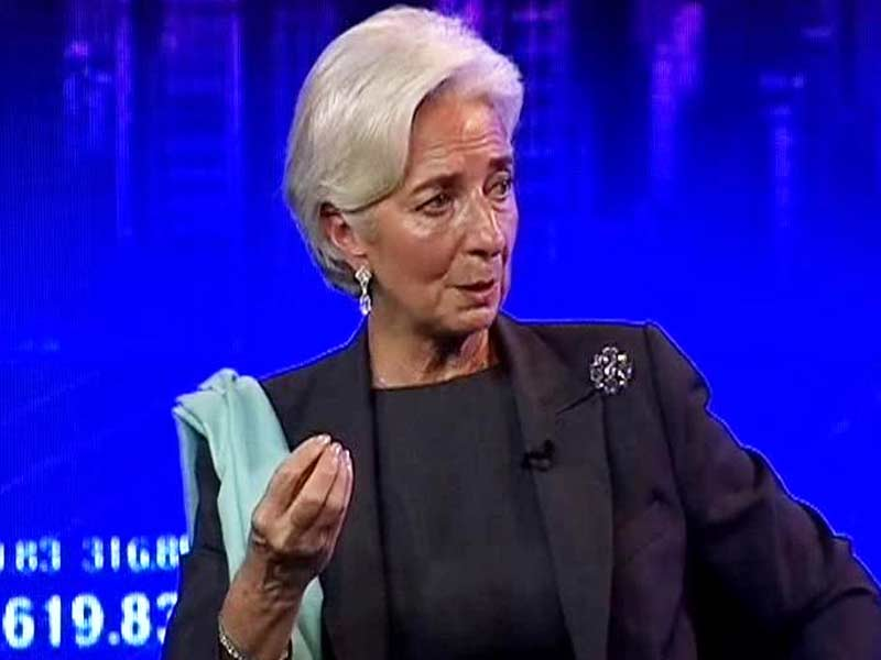 Video : Drop in Global Price of Oil Will Help India: Christine Lagarde