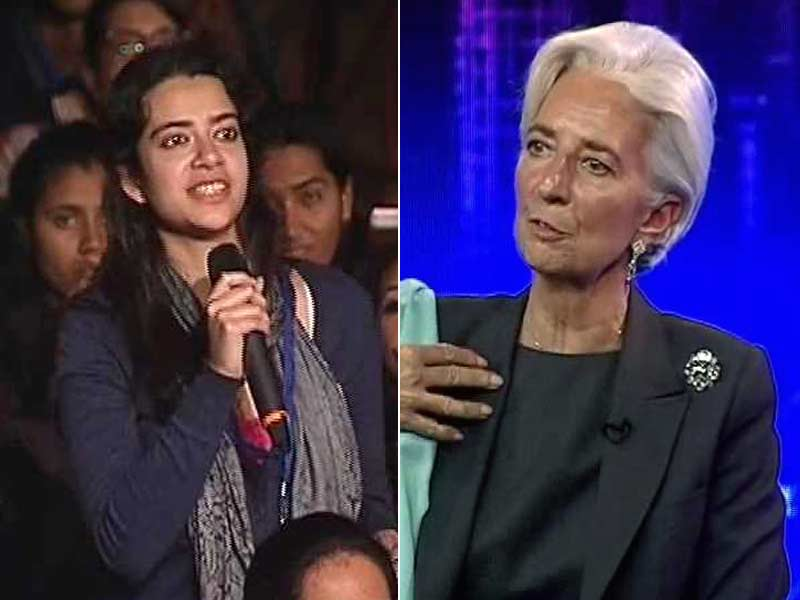 Video : Will Hindu Males Alone Benefit from India's Growth, Student Asks IMF Chief