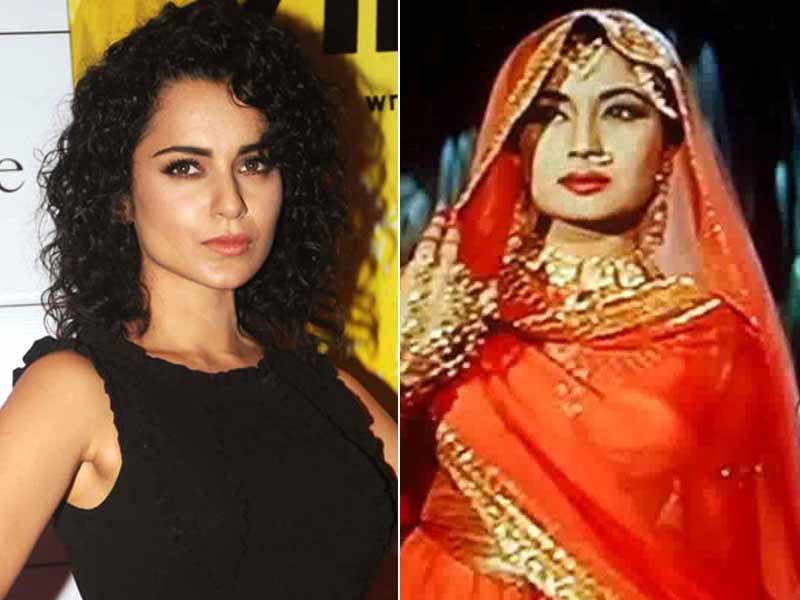 Video : Kangana Ranaut To Play Meena Kumari?