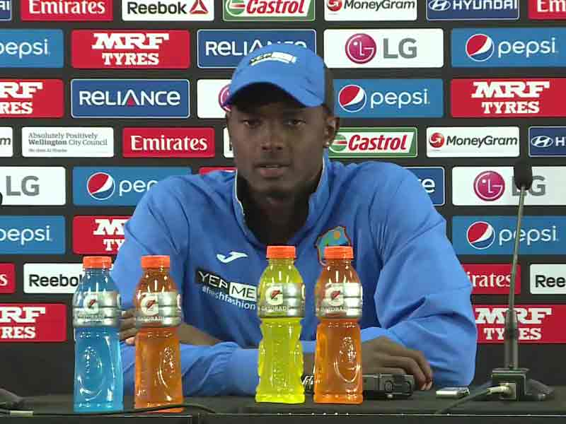 Video : Cricket World Cup 2015: West Indies Have Been Inconsistent, Says Skipper Jason Holder