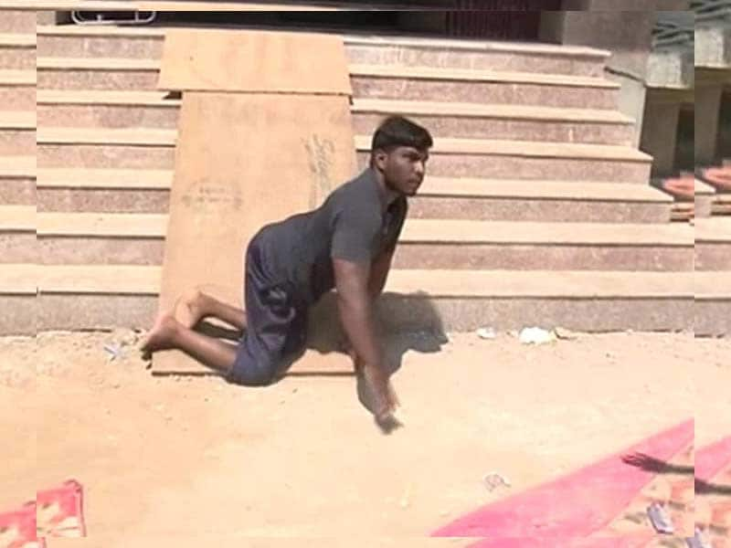 Video : Differently Abled Athletes Mistreated: No Ramps or Special Toilets at Ghaziabad Event