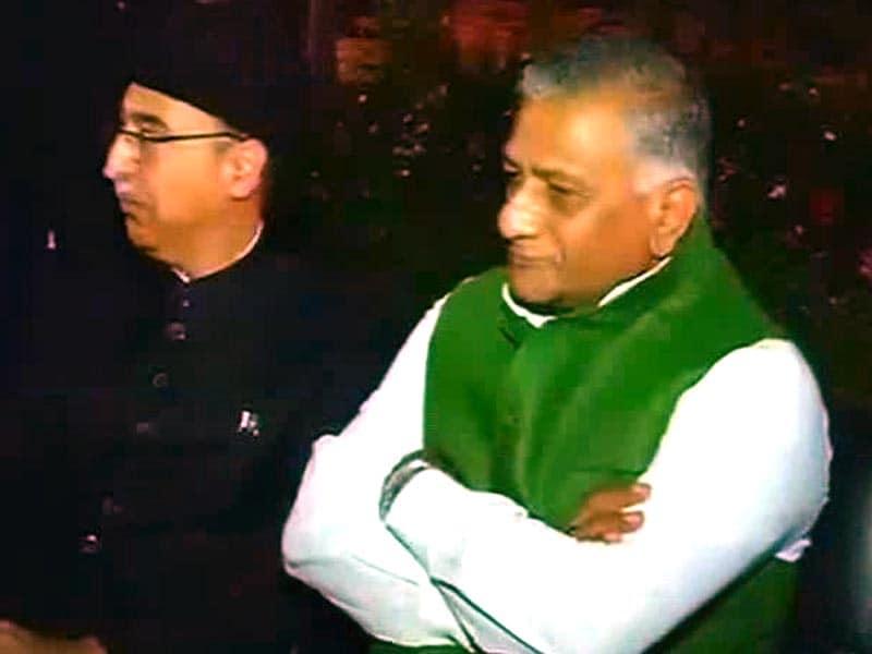 Video : पाकिस्तान दिवस के नाख़ुश 'मेहमान' मंत्री वीके सिंह