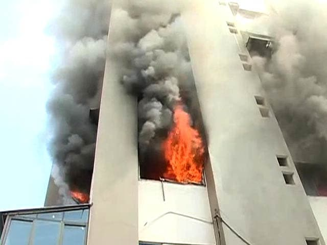 Video : It Took 2 Hours to Put Out Mumbai Fire, 500 Evacuated