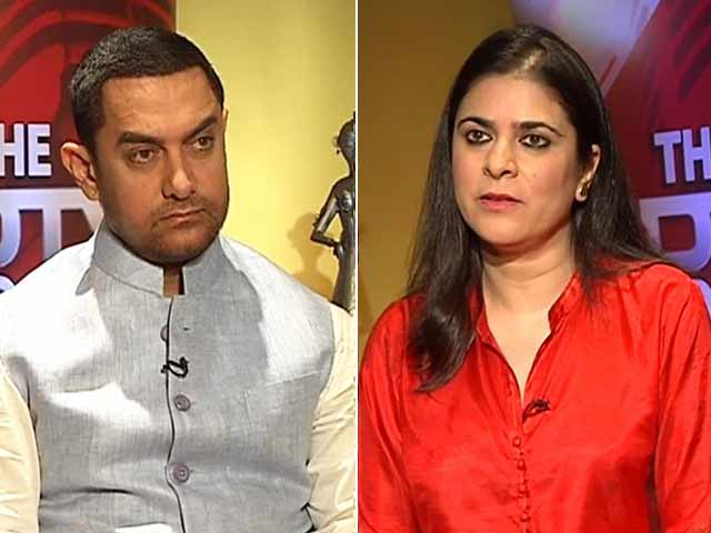 Video : The NDTV Dialogues: Decoding Aamir Khan