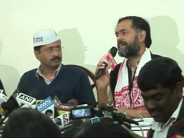 Video : In Crucial AAP Meet Today, a Decision Likely on Rebels Yogendra Yadav, Prashant Bhushan