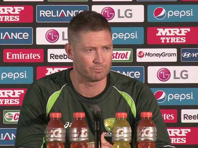 Video : It's Not About Me, a World Cup Final is Special Occasion for Team: Michael Clarke