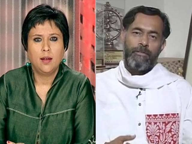 Video : Kejriwal's Stalinist Purge, Alleges Yogendra Yadav on NDTV