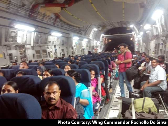 Video : Over 350 Indians Arrive Home After Dramatic Rescue From Yemen