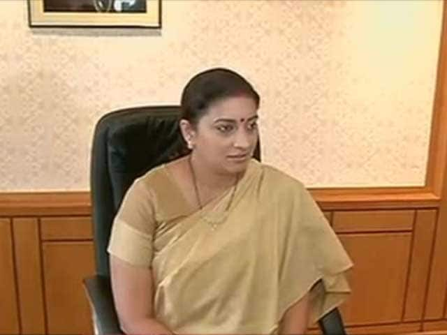Video : Minister Smriti Irani Allegedly Filmed Changing Clothes by Goa Store's Cameras, FIR Filed