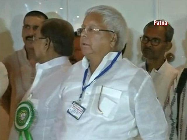 Video : Janata Parivar Merger Almost Done, Formal Announcement Soon, Says Lalu Yadav