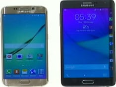 Samsung Galaxy Note Edge vs S6 Edge: The Battle of the Curves