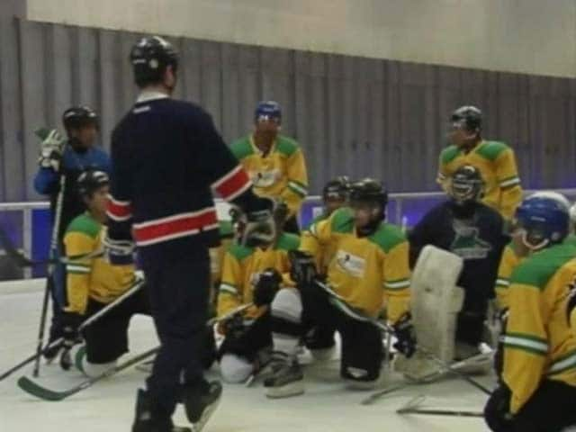 Video : NDTV Viewer to Fund Indian Ice Hockey Team