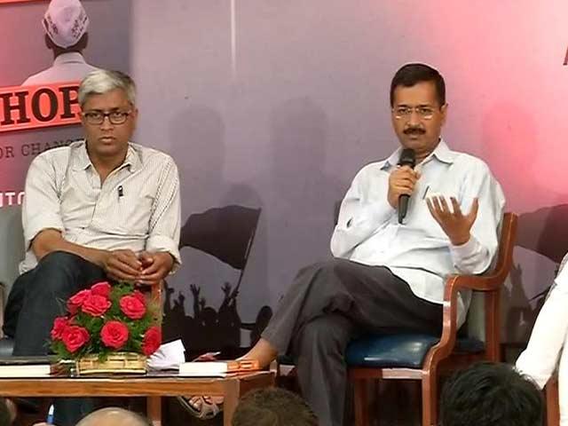 Video : 'Limits Were Crossed': Arvind Kejriwal on Rebels Prashant Bhushan, Yogendra Yadav