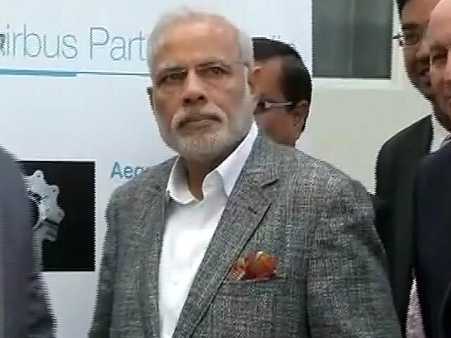 Video : फ्रांस दौरे के दूसरे दिन एयरबस के कारखाने पहुंचे PM मोदी
